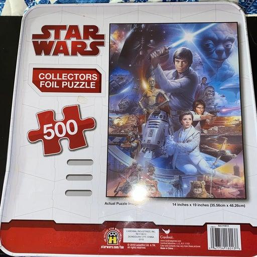 2010 Star Wars Foil Collectors Puzzle