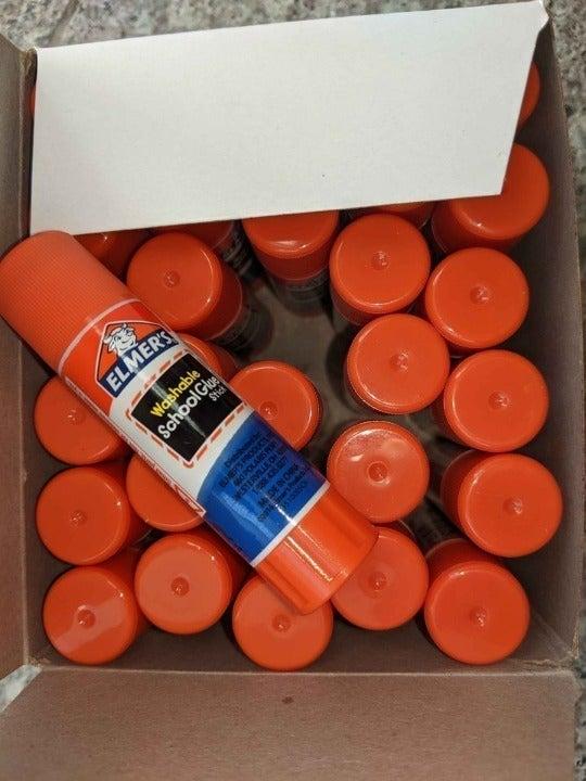 Washable disappearing purple school glue