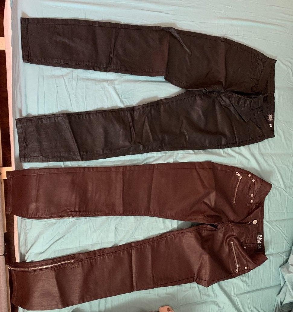 2 pairs of pants RES denim