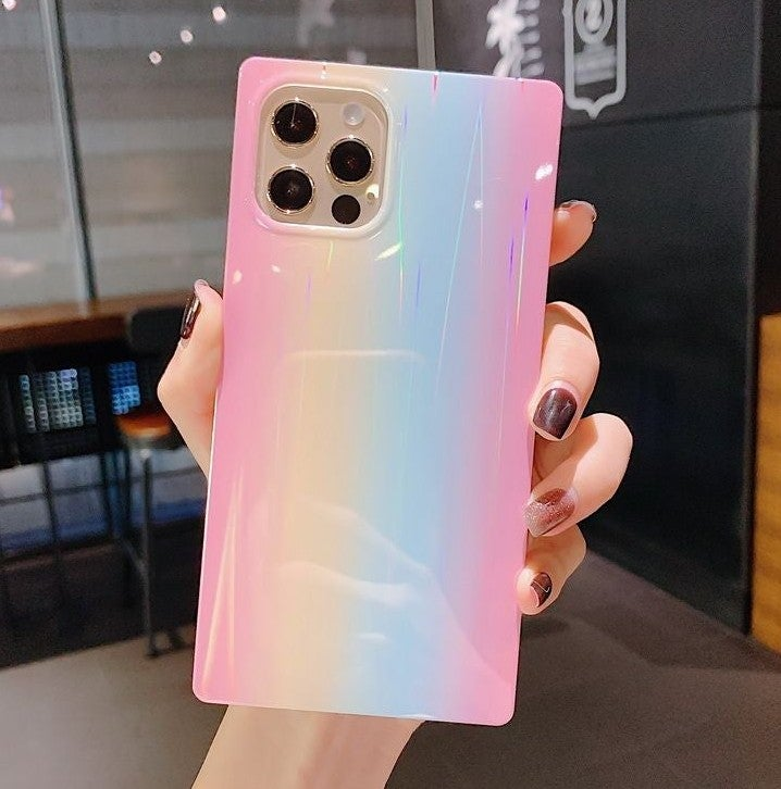 Iphone 12 Pro Max case Laser Holographic