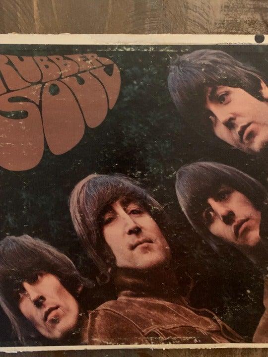 Beatles: Rubber Soul Mono Pressing