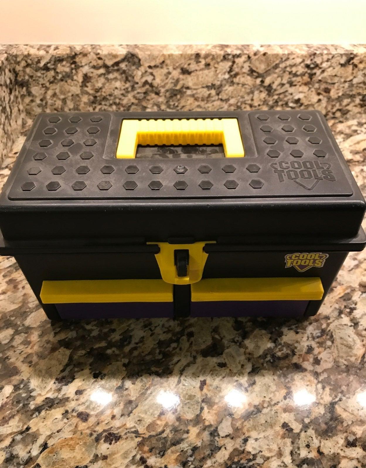 Vintage Cool Tools - Tool Box and Tools