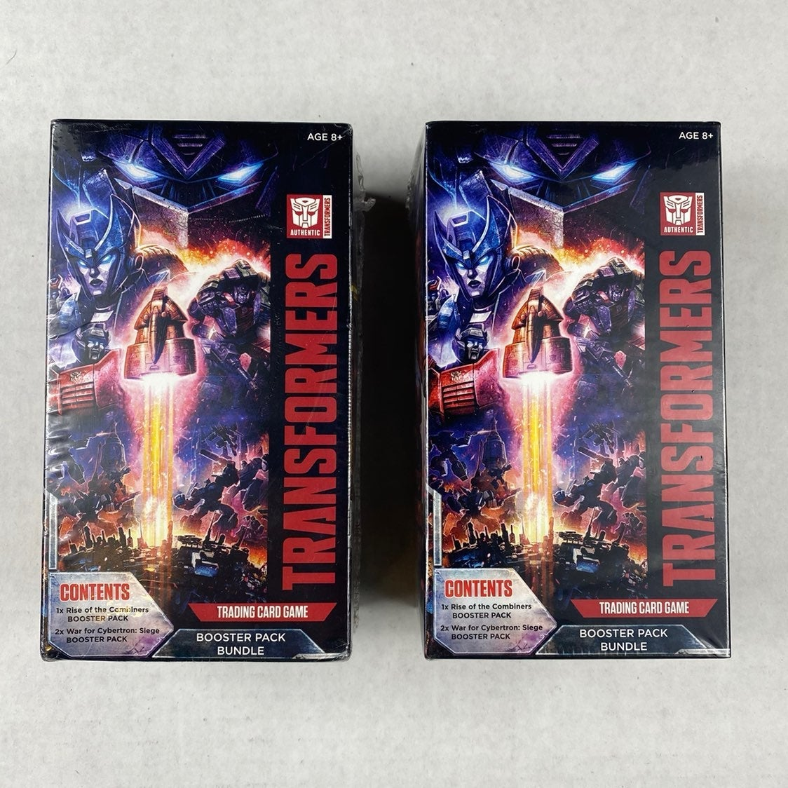 Transformers TCG Booster Pack Bundle x2