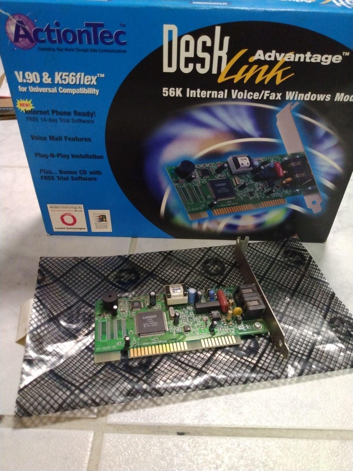 Actiontec 56K V.90 Internal Modem