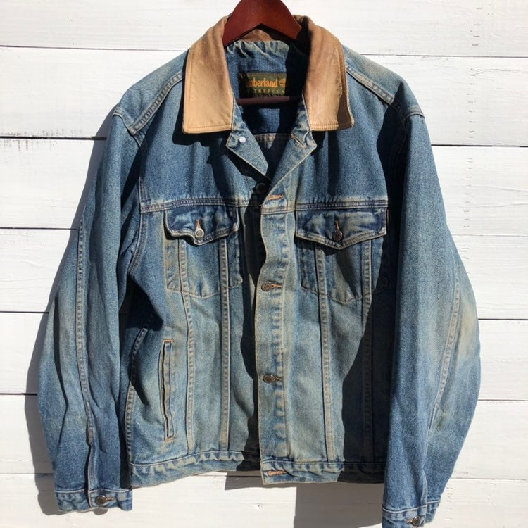 Vintage Timberland Jean Demin Jacket M