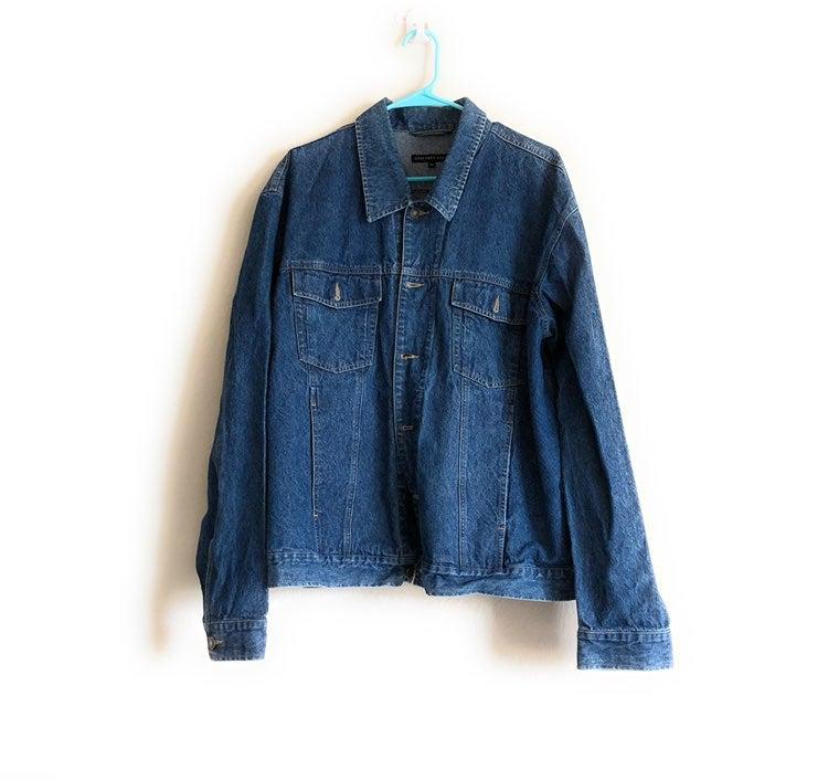 Geoffrey Beene Denim Jacket XL