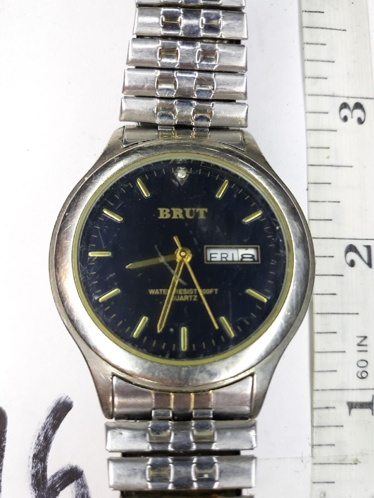 Brut Men's Diamond Watch