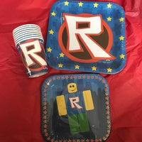 Roblox Party Decorations Mercari Roblox Party Supplies Mercari