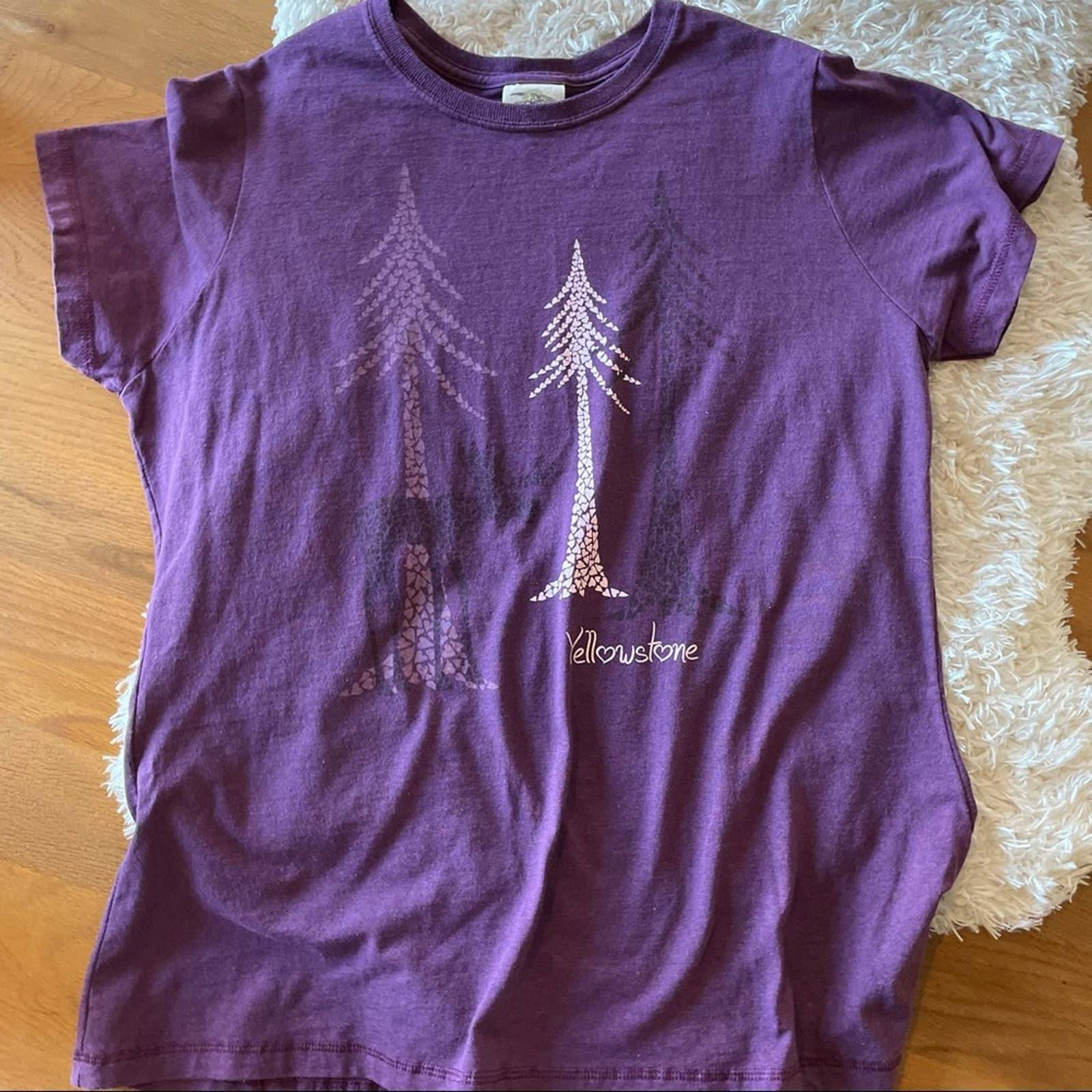 Eco Mountain Yellowstone shirt size XXL