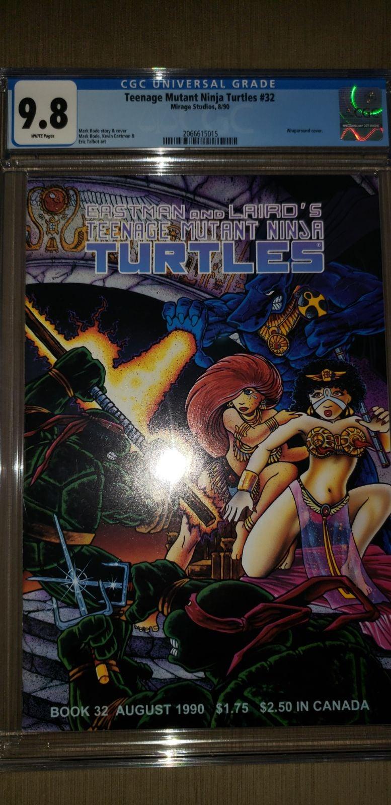 Teenage Mutant Ninja Turtles Comic #32 C