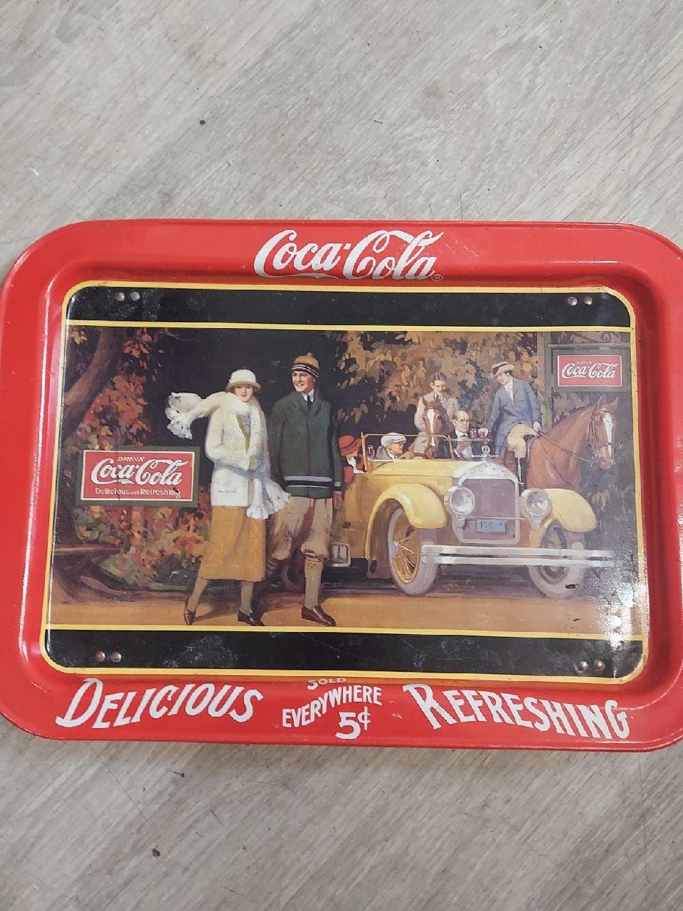 1987 Coca-Cola tray
