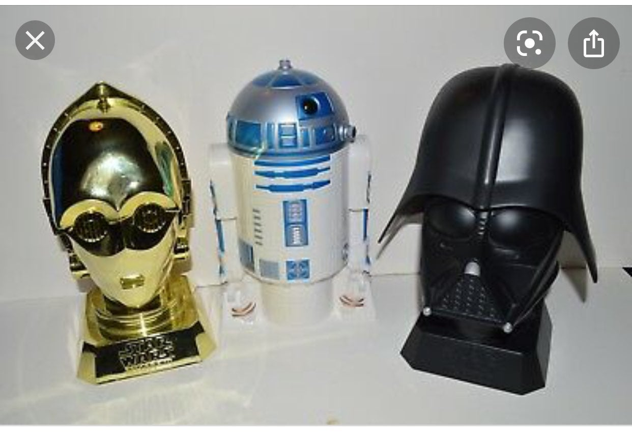 Star Wars Kelloggs Promo Cookie Jars