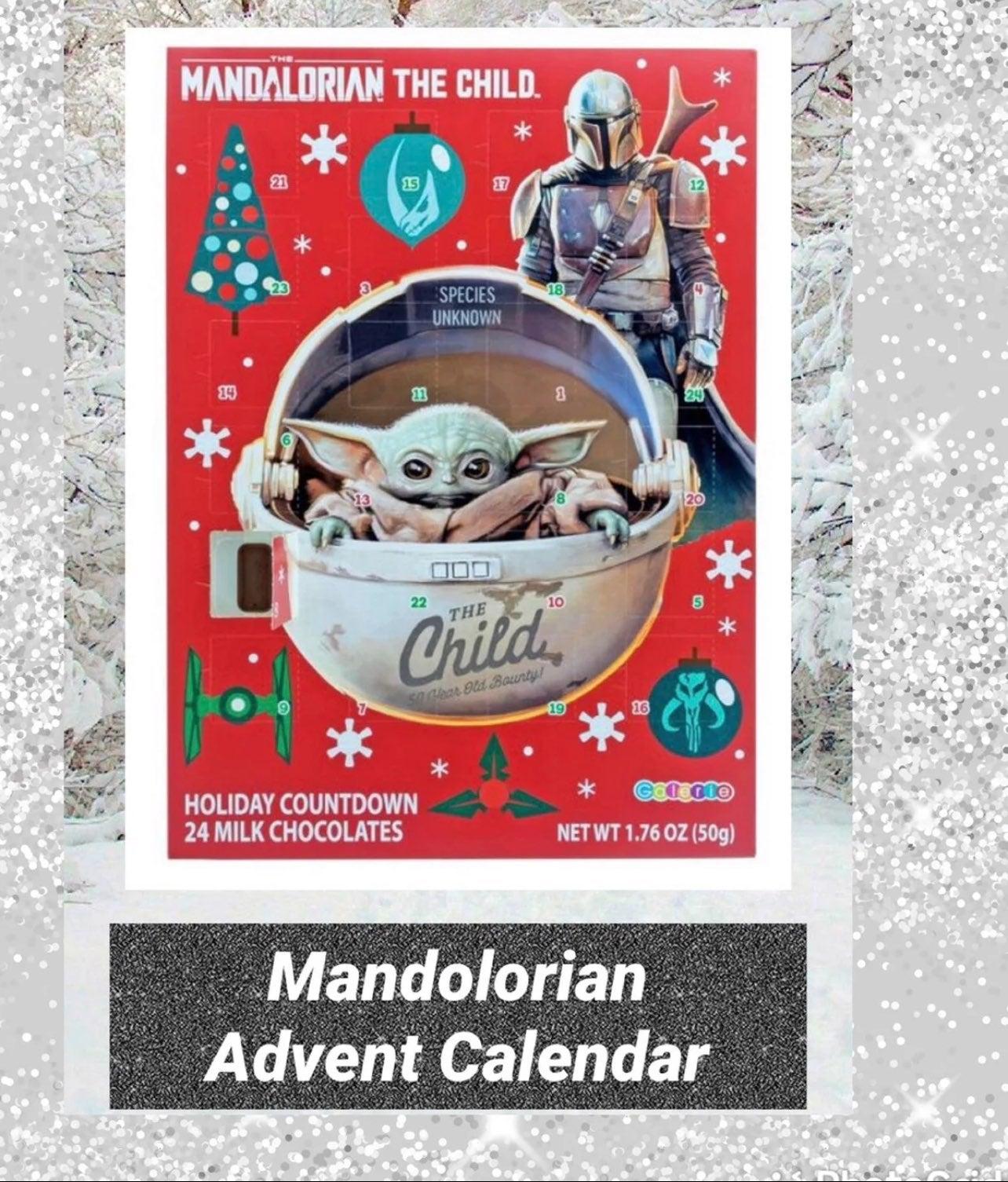 Mandolorian Advent Calender