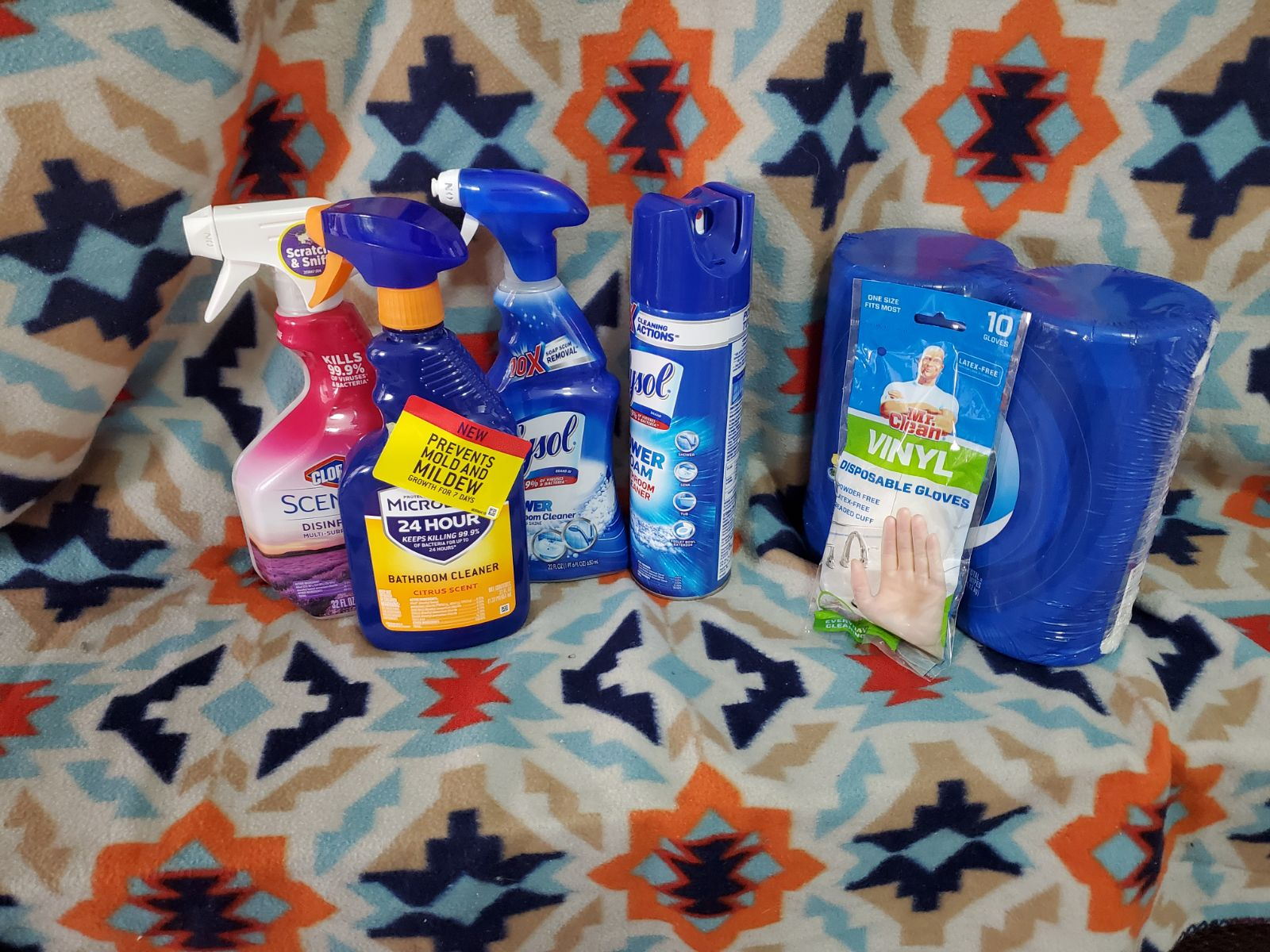 Household supplies for memawcici