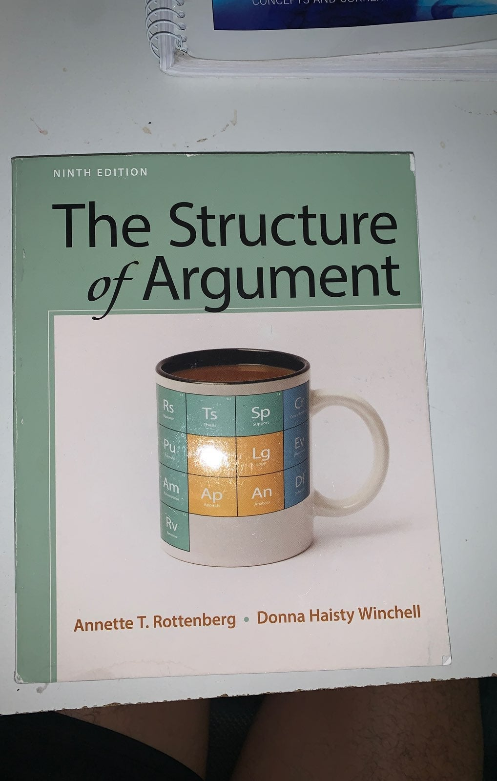 College Book, The Structure of Argument