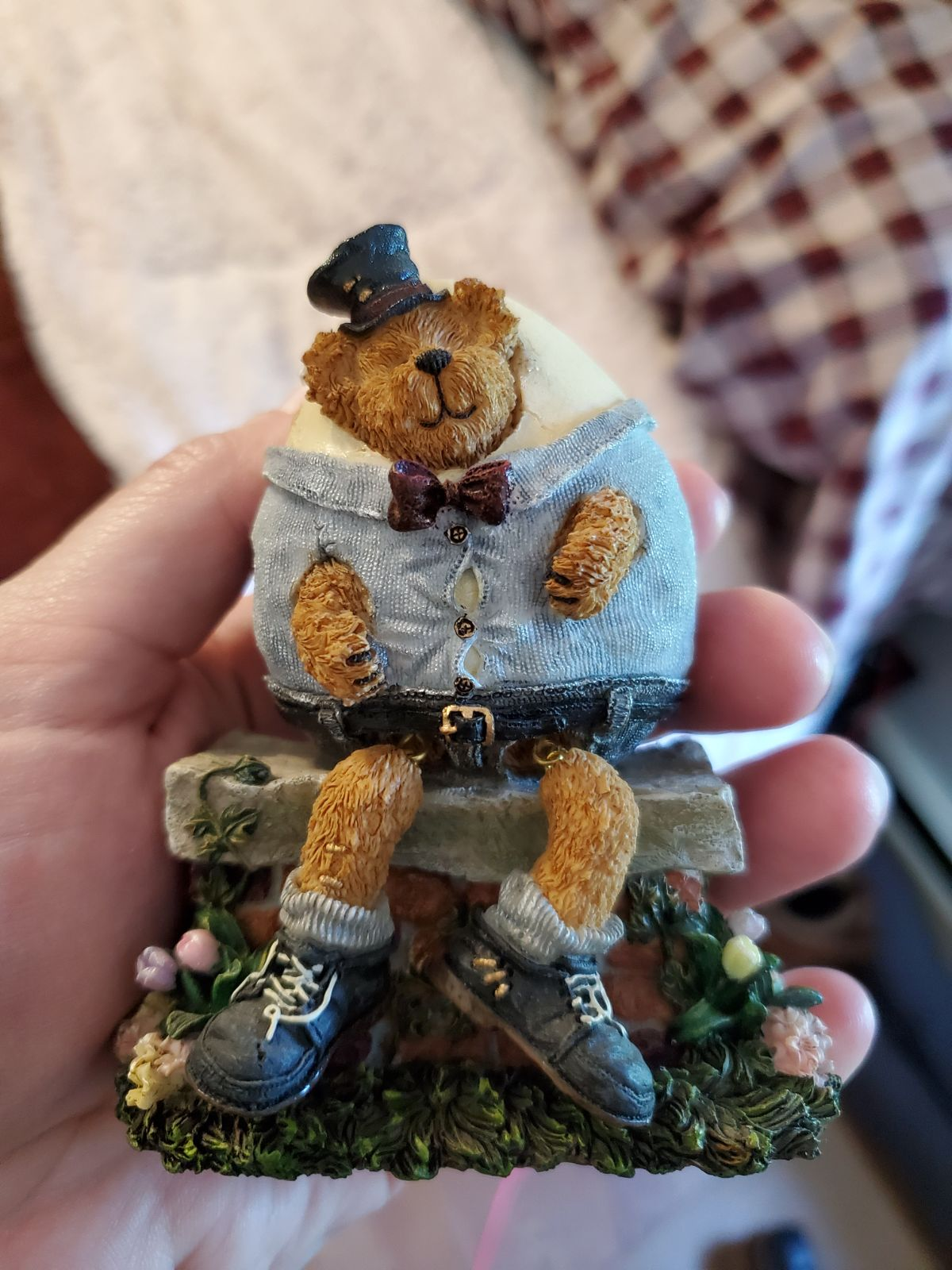 Boyd's bears bearstone collection Humpty