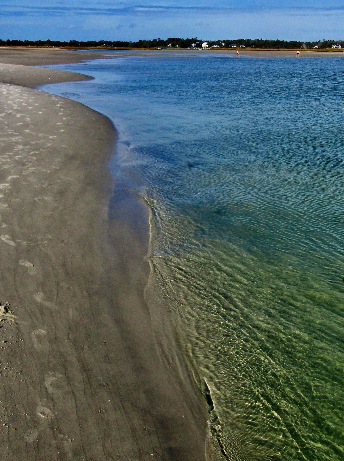 Wavy coastline photo