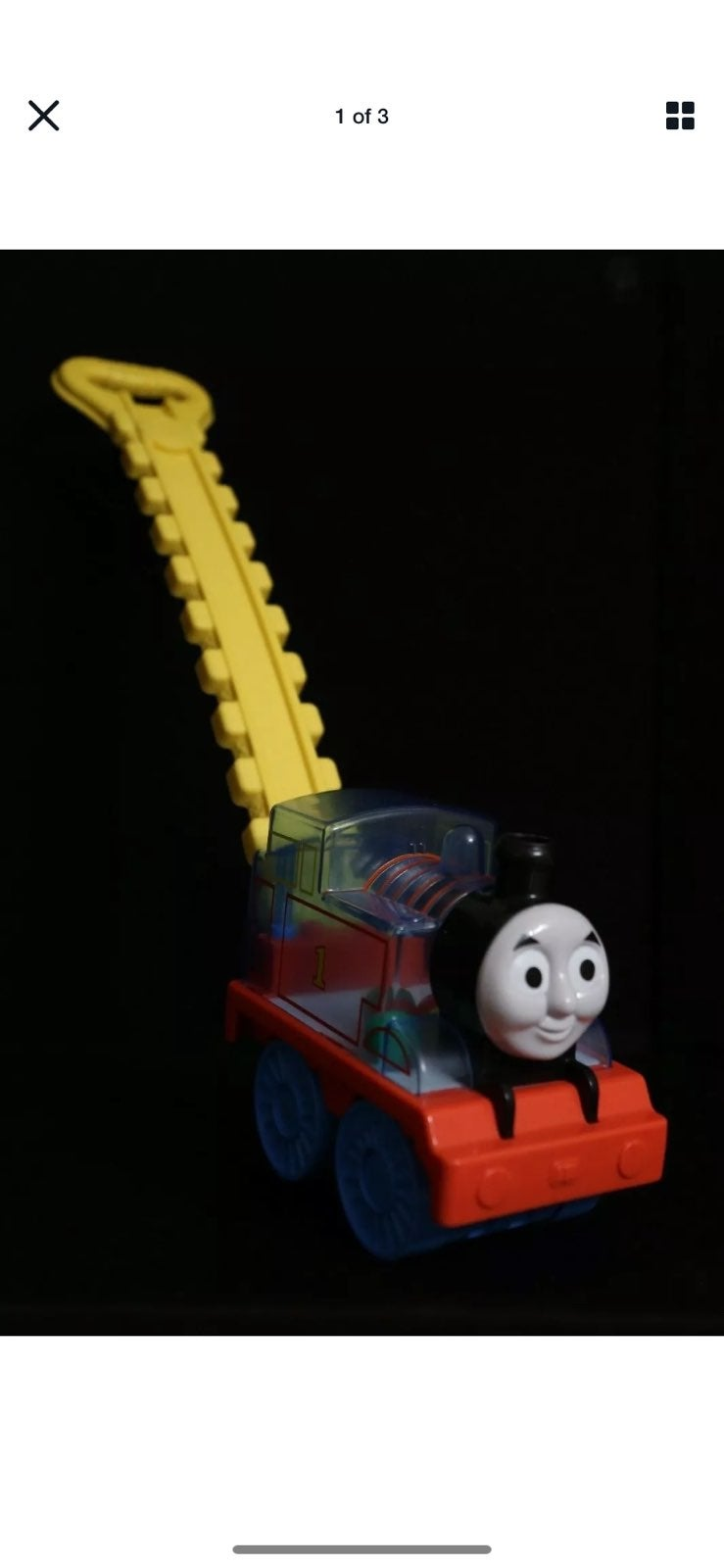 Thomas The Train Push Popper Toy