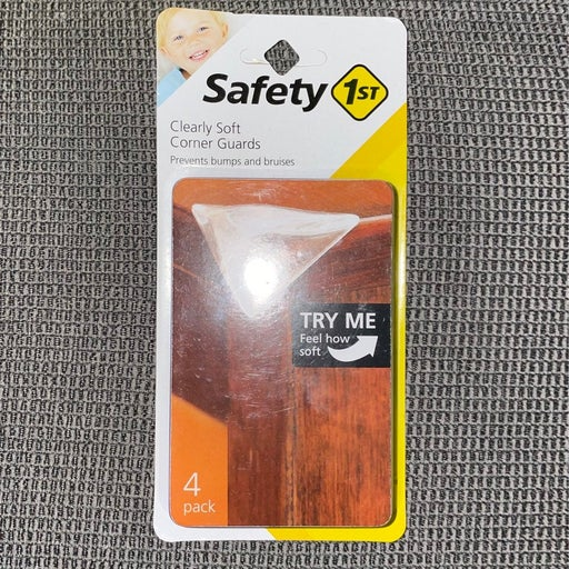Safety 1st Clear Corner Guards 4 Pk