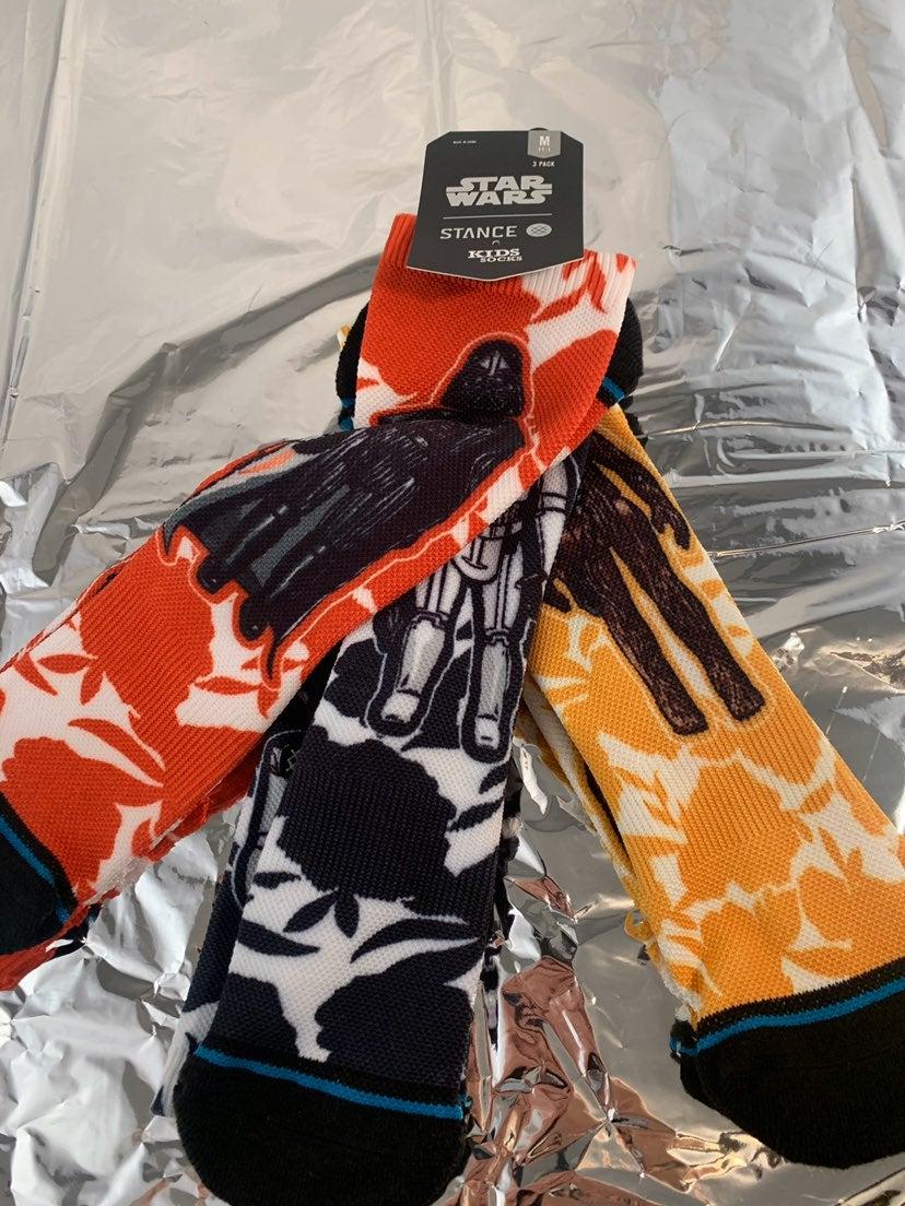 stance star wars socks 3 pack