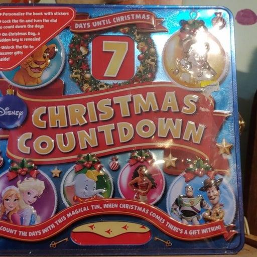 Disney christmas countdown sealed