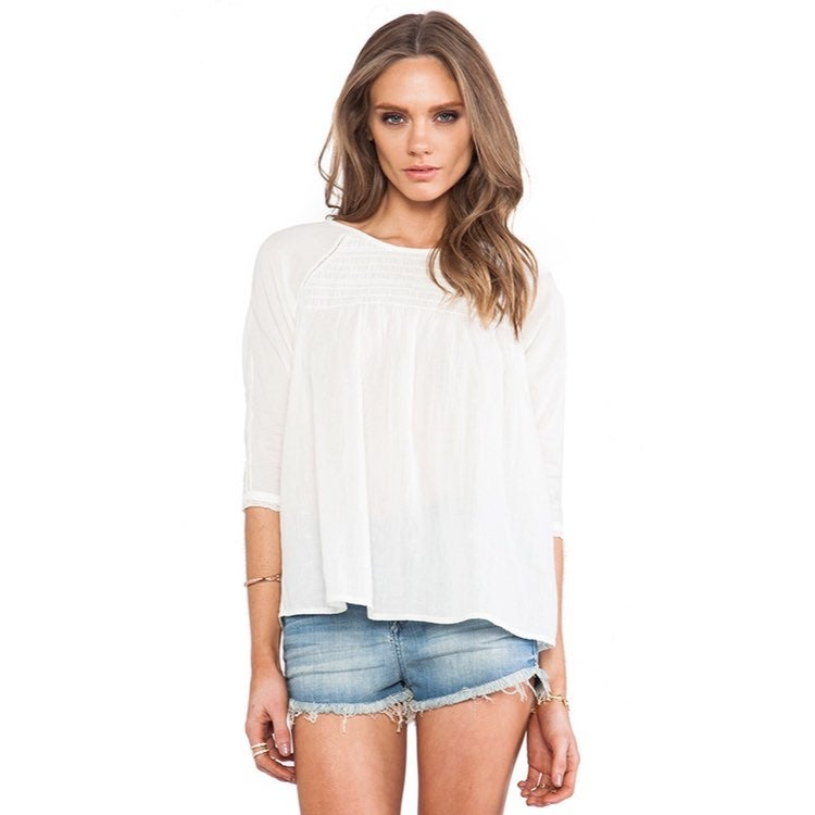 ULLA JOHNSON HAZEL BLOUSE