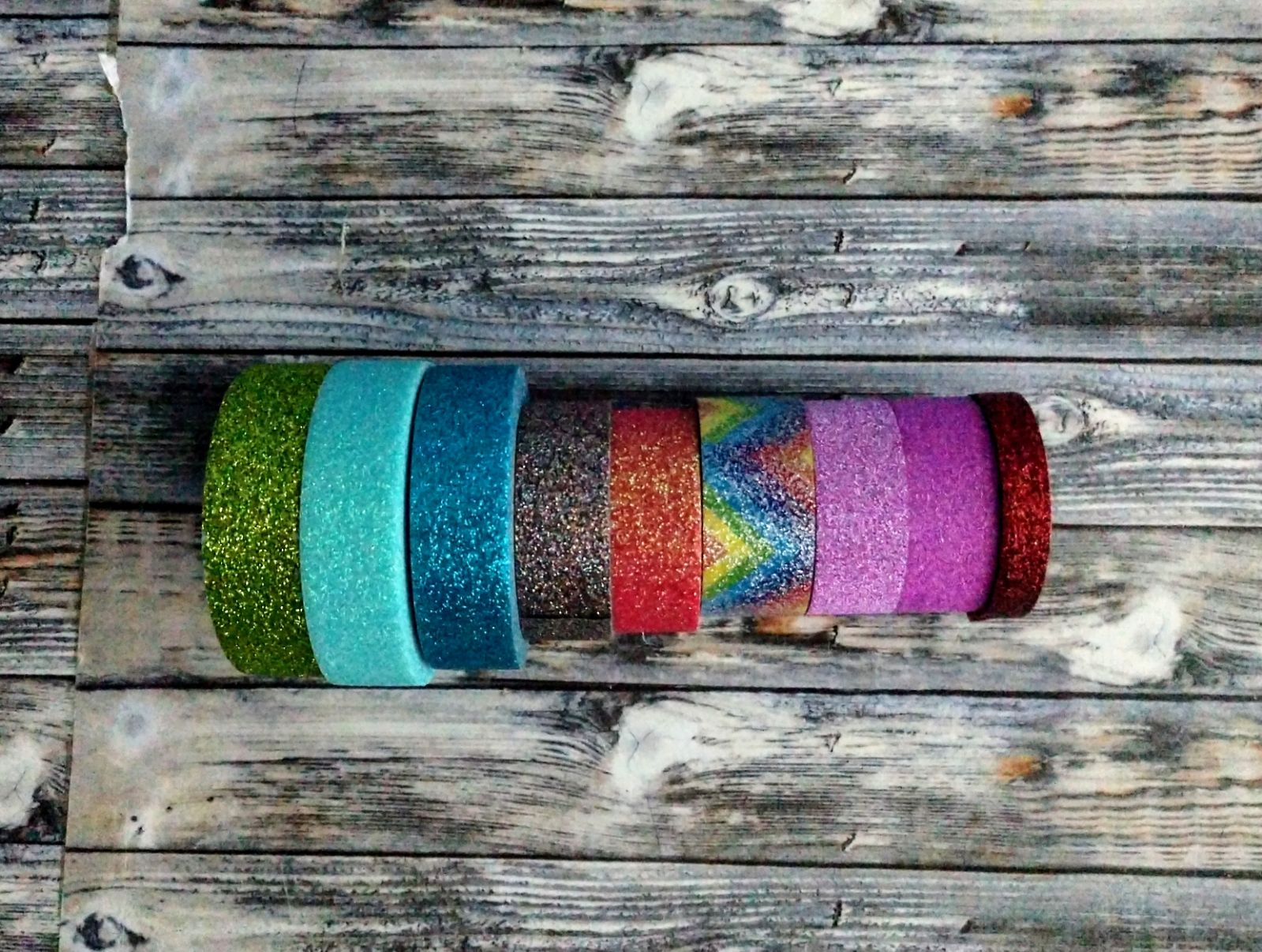 Glitter Washi tapes