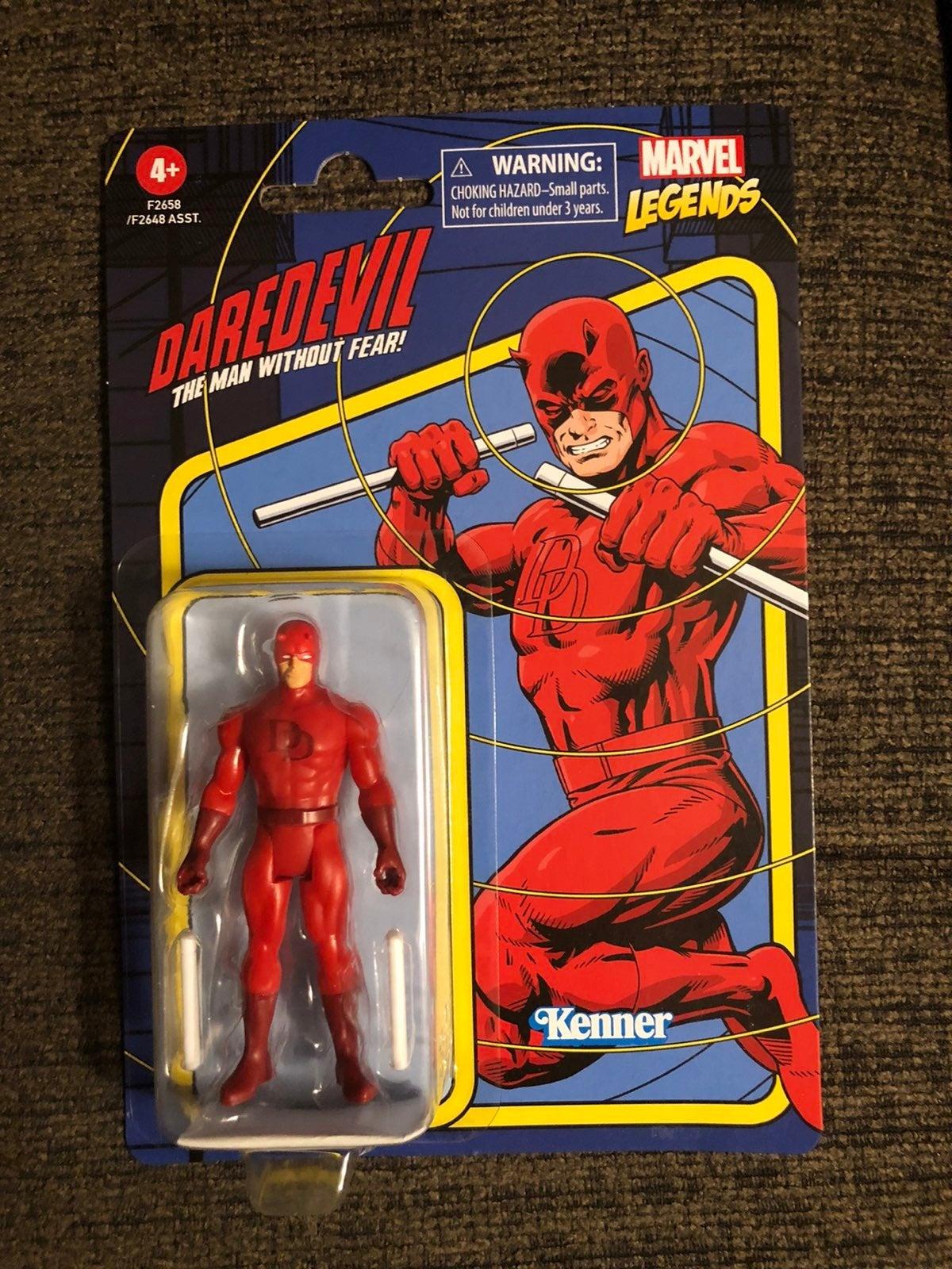 "Marvel Legends Retro Daredevil 3.75"""