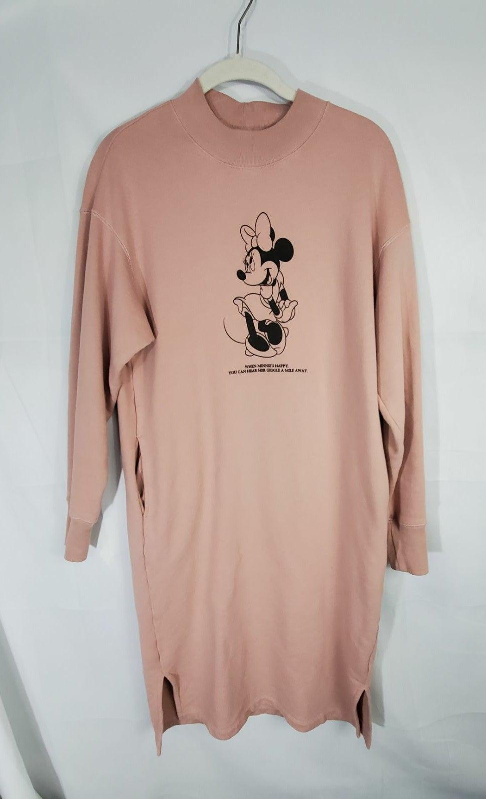 Uniqlo Mini Mouse Sweatshirt Dress XS