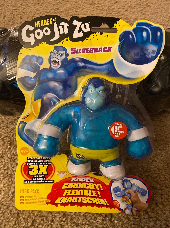 Heroes Goo Jit Zu Silverback Hero Pack