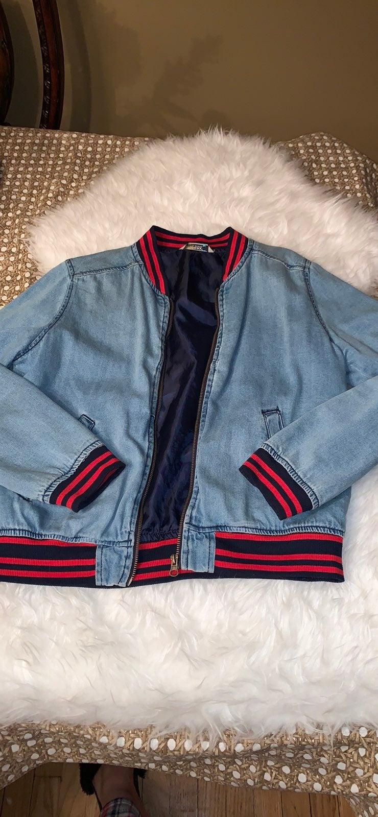 Woman's Jean jacket size M