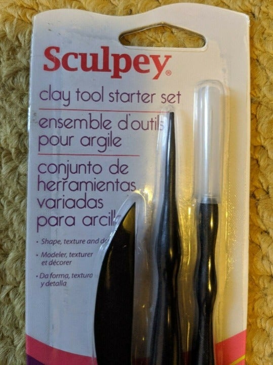 Sculpey Clay Tool Starter Set Shaper