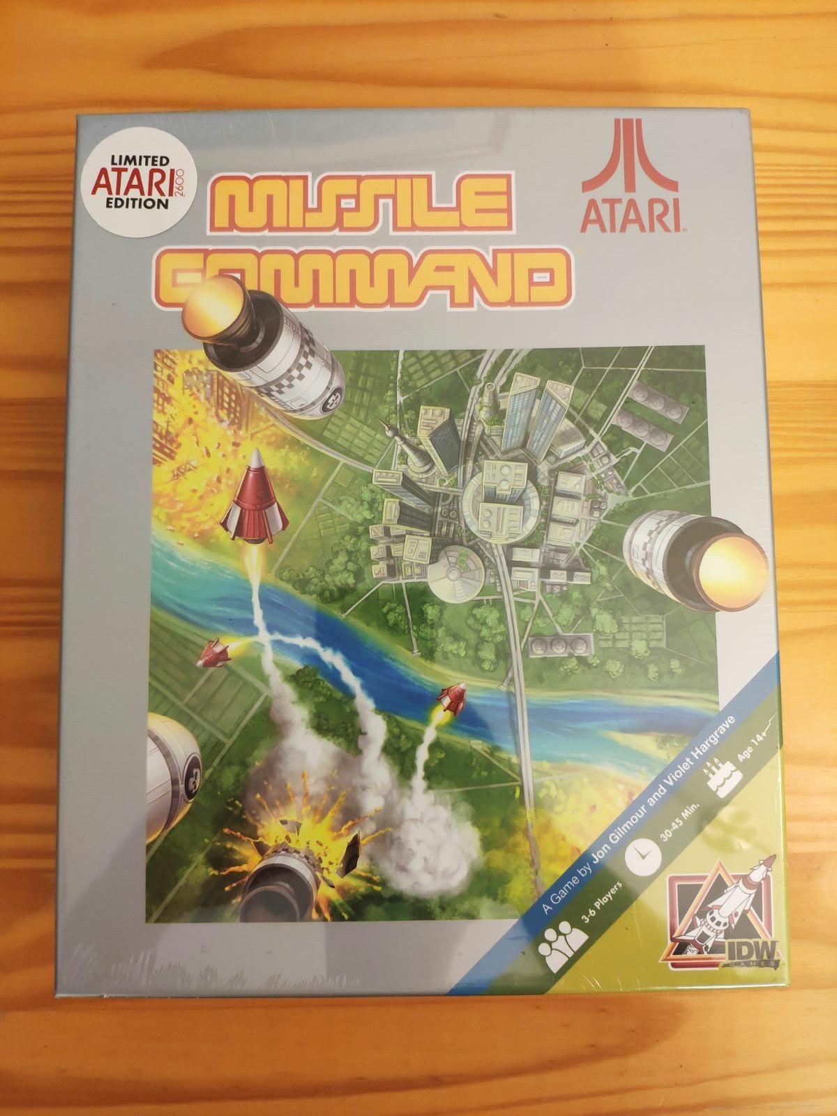 Atari MISSILE COMMAND Board Game Sealed