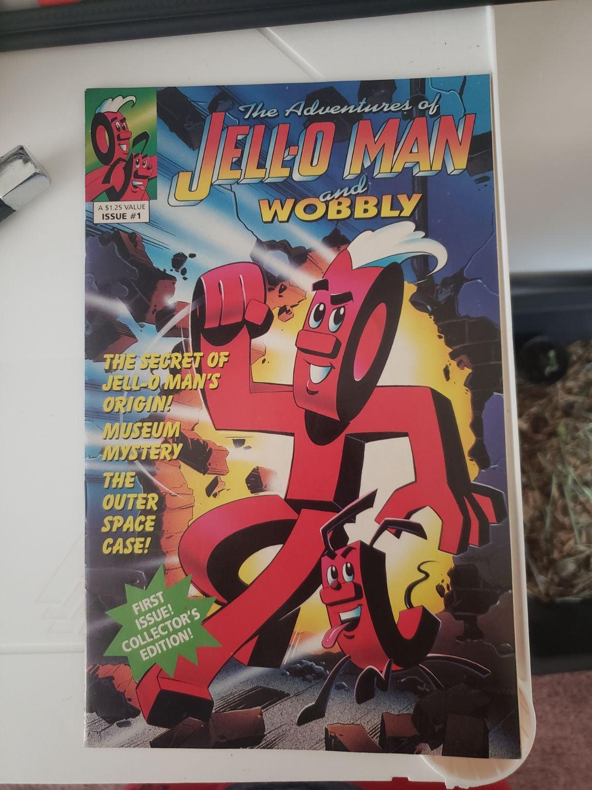 Adventures of Jello-O Man & Wobbly #1