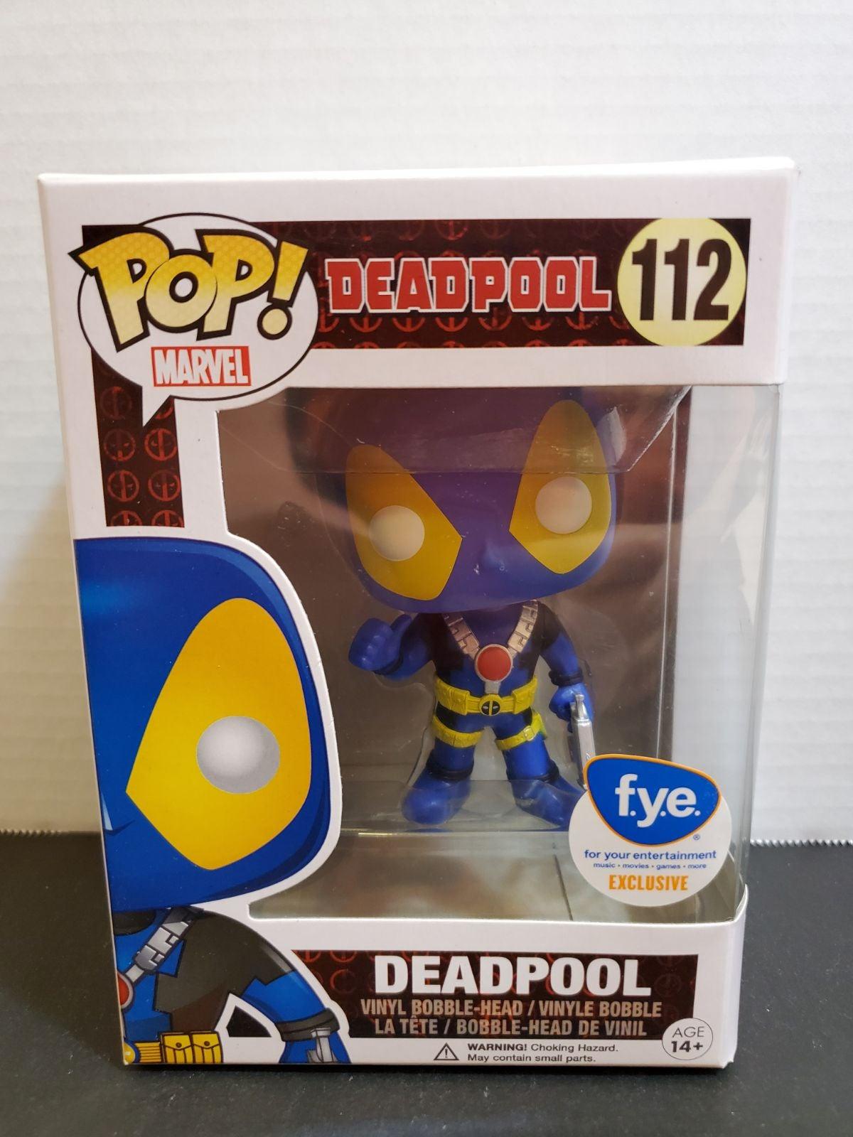 Funko Pop Deadpool (X-Men) Exclusive