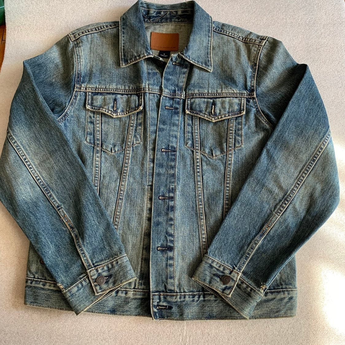 Mens Jean Jacket GAP sz Medium