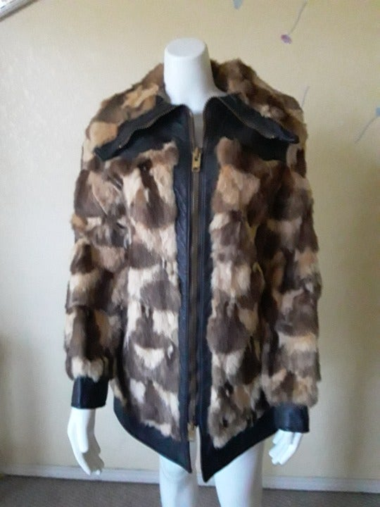 Real Fur Jacket by Patchin Furs