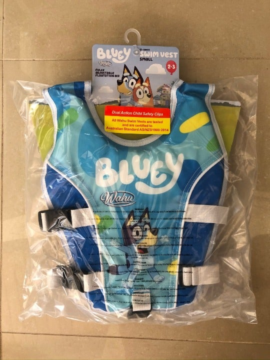 Bluey Life Vest - Small