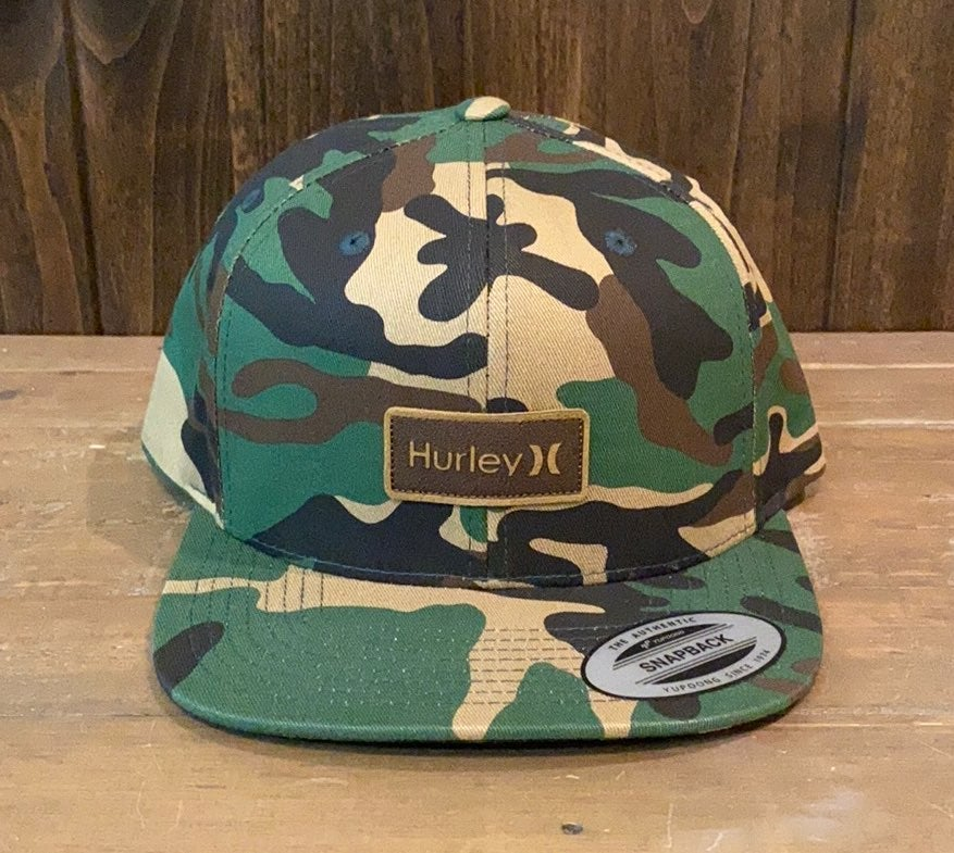 NWT Hurley Brooklyn Camo Hat