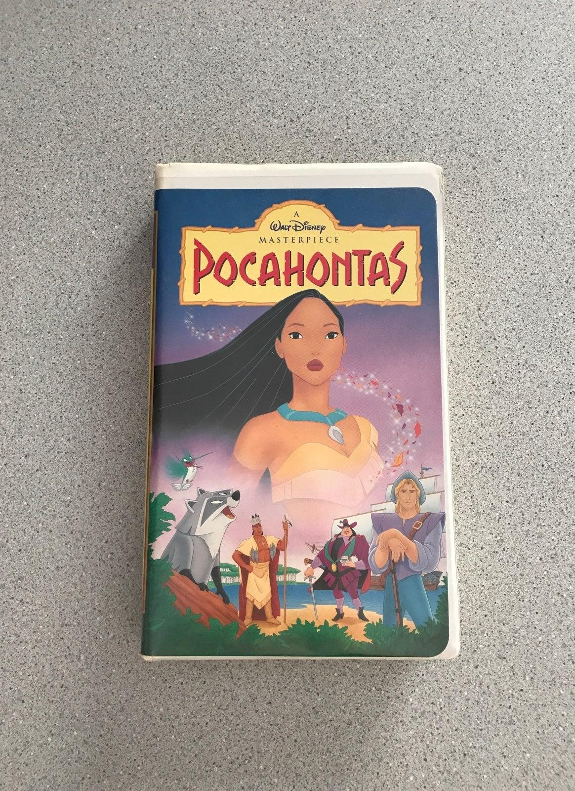 Pocahontas VHS