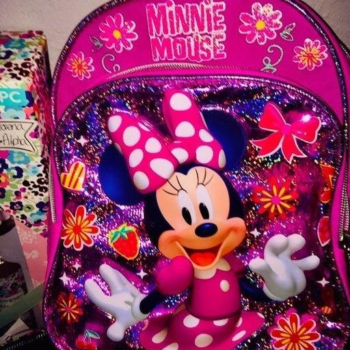 Super Cute Disney Minnie Mouse Mini Back