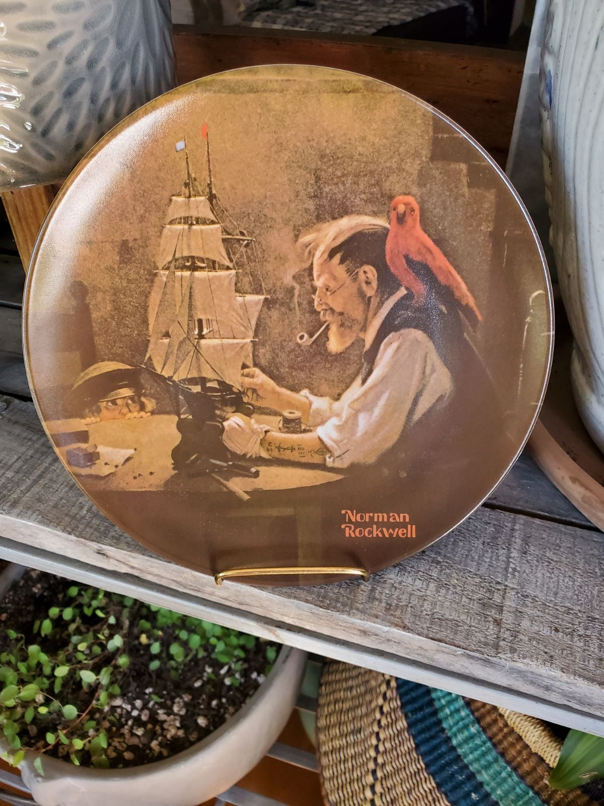 Norman Rockwell Collectable Plate