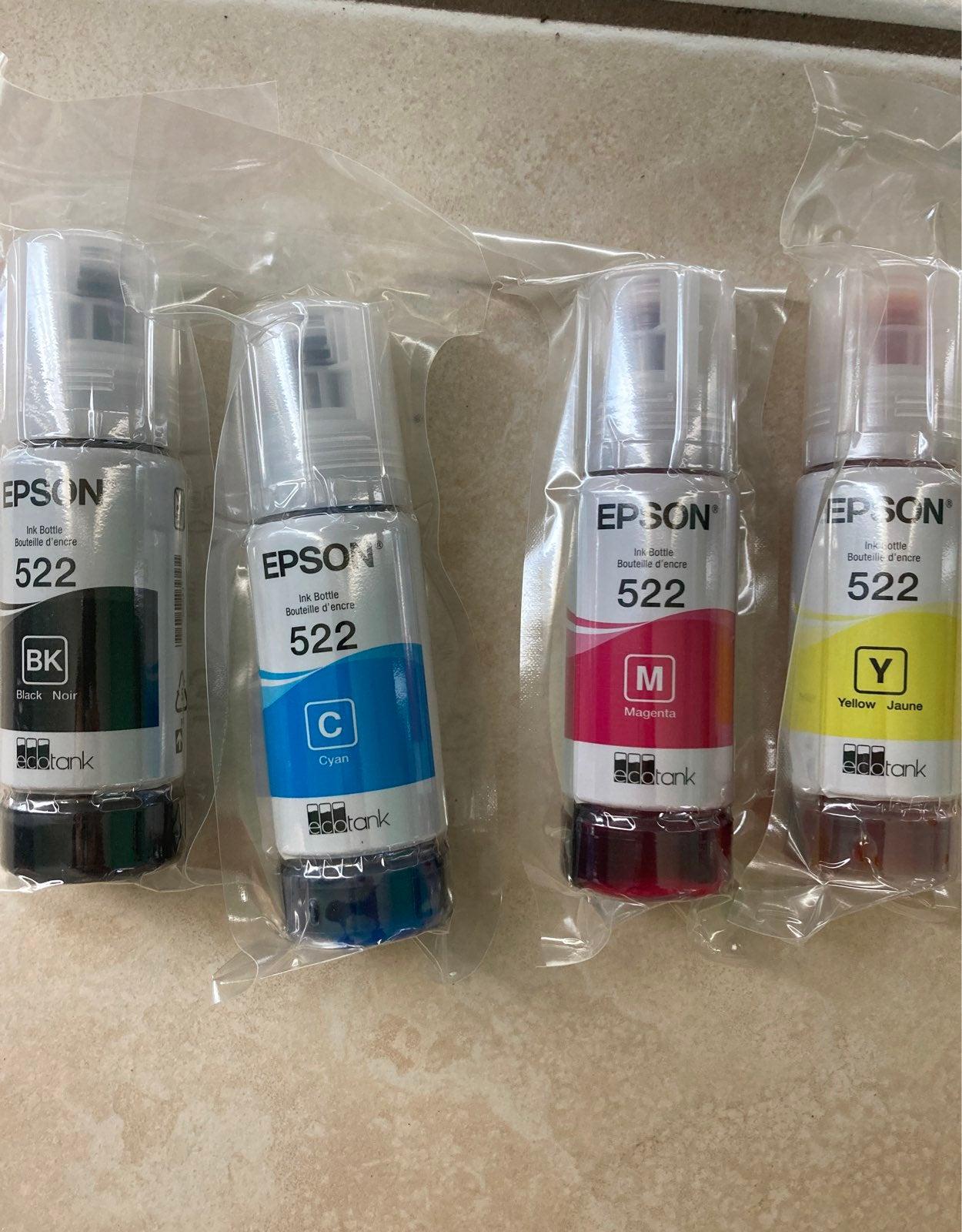 Epson 522 et-2720 EcoTank Printer ink