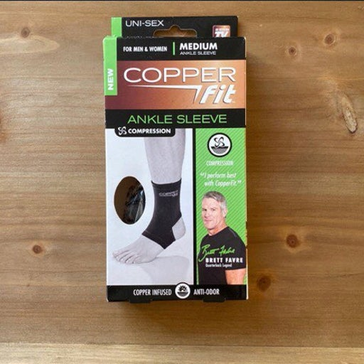 Copper Fit Compression Ankle Sleeve