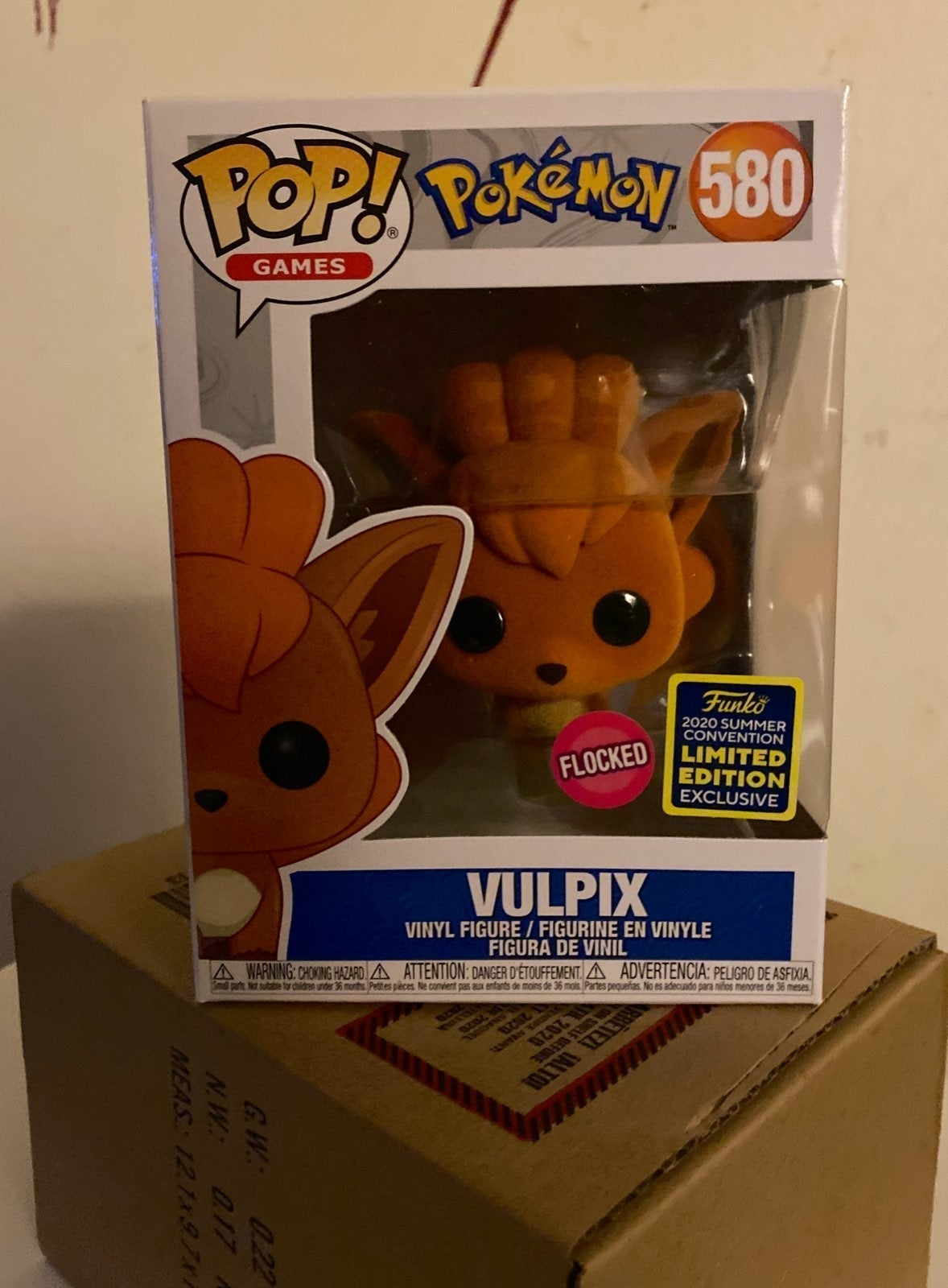 Funko Pop SDCC Flocked