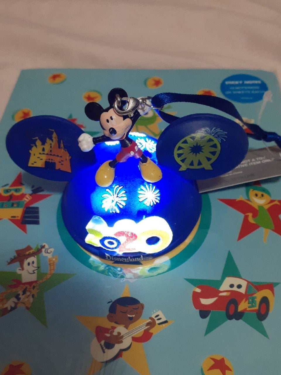 Disneyland 2020 light up hat  ornament