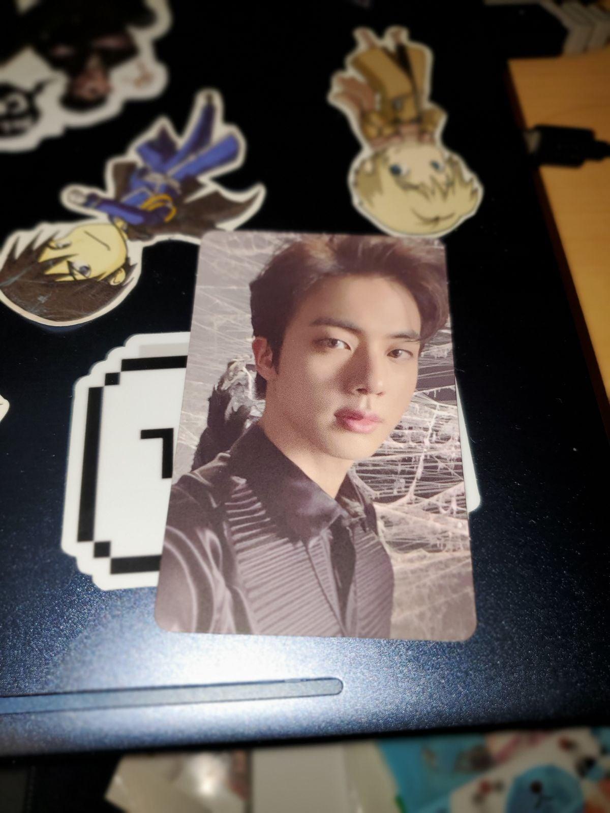 jin photocard