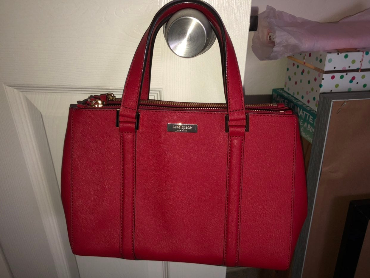 Nwot Kate spade double zip satchel