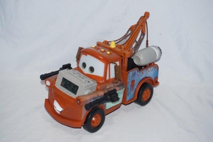 Disney Cars Tow Mater Alarm Clock Night