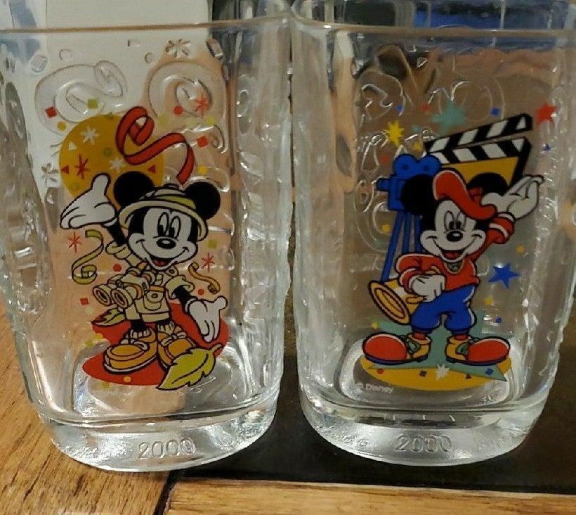 Walt Disney World 2000 Celebration Glass